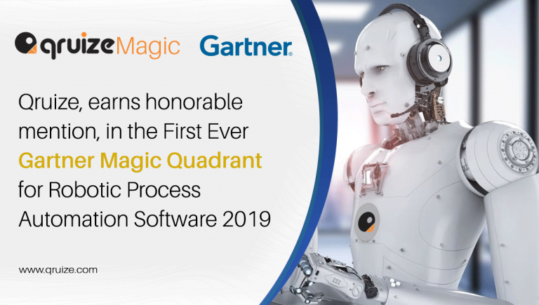 Qruize Inc, earns honourable mention, in the 2019 Gartner Magic